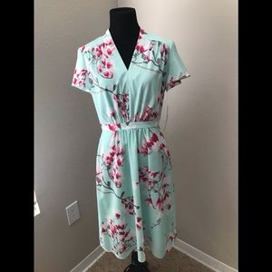 ALEX MARIE CHERRY BLOSSOM SIZE 4 DRESS